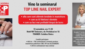 Invitatie Seminar Nail Expert Timisoara